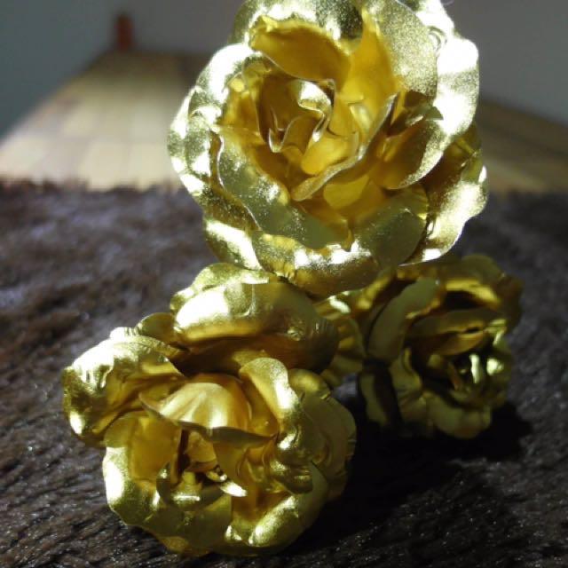 ❤️金箔玫瑰❤️母親節加贈母親節卡片一張