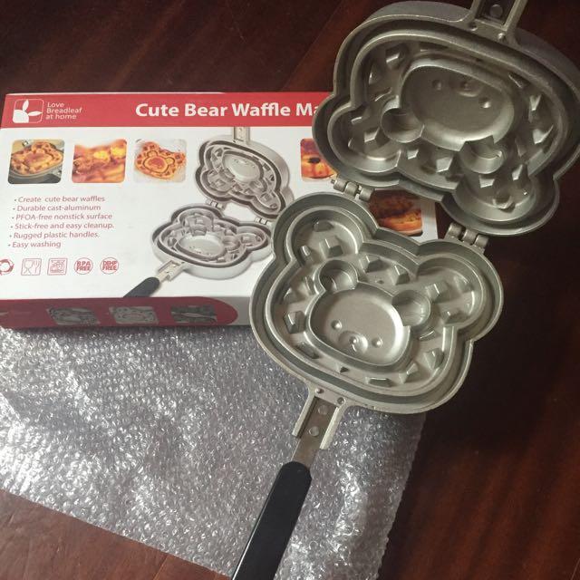 全新拉拉熊鬆餅模具 紅豆餅 鯛魚燒 烤盤