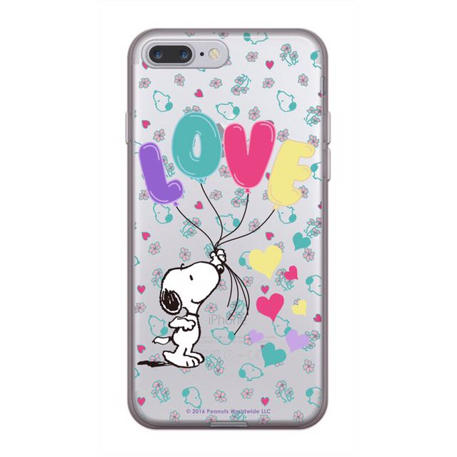 現貨❤️三星 s8/s7/s6/edge/note5 手機殼 Samsung 矽膠 史努比 Snoopy 告白氣球 情人節