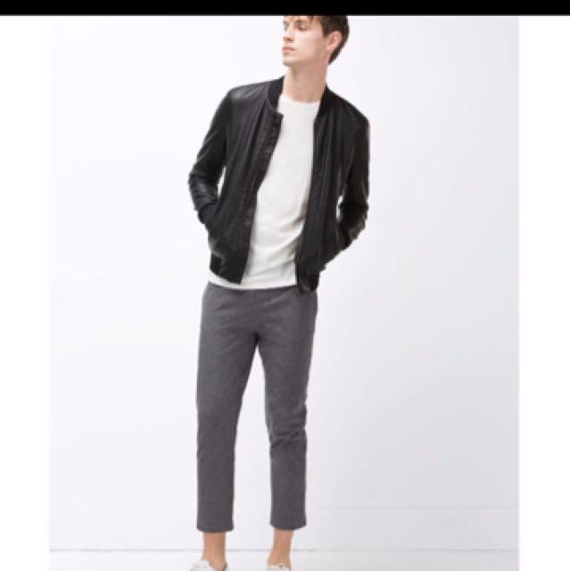 皮外套 Zara Man