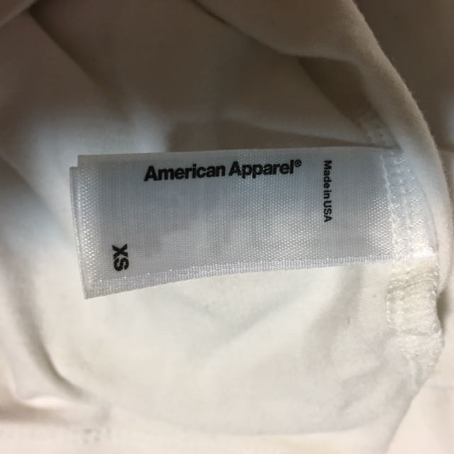 AMERICAN APPAREL: Crop Top Size 6