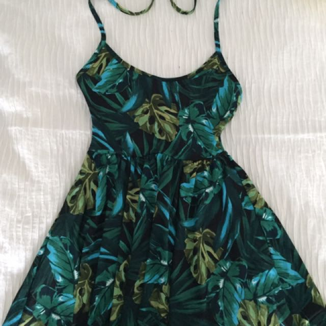 American Apparel Leaf Dress
