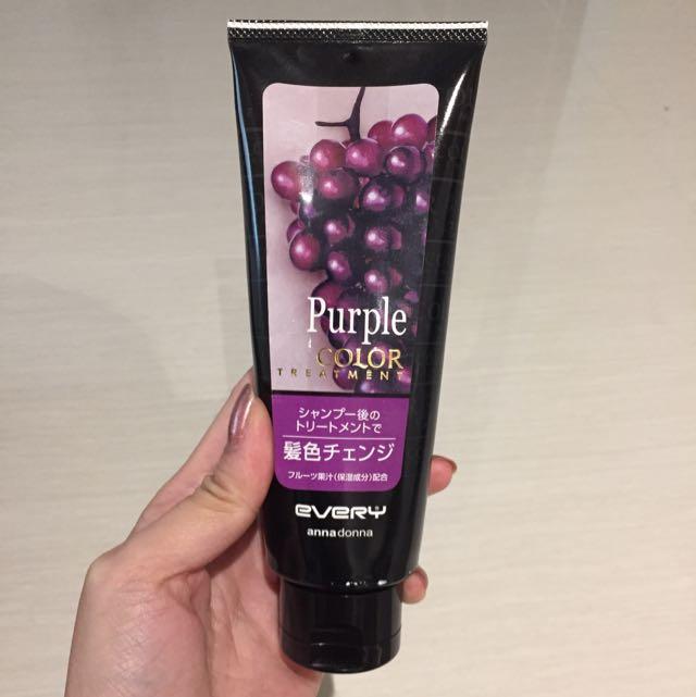 Annadonna Purple Hair Colour Treatment