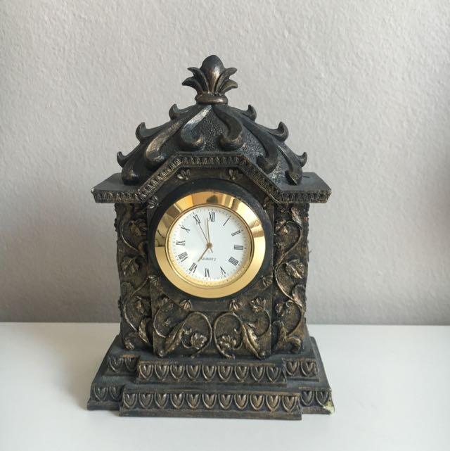 Antique Copper Clock