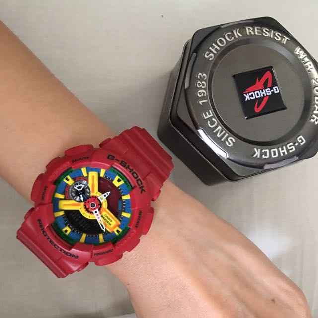 Authentic GShock Red