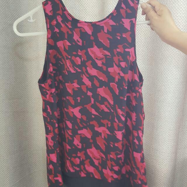 Authentic H&M Sleeveless Top (Red)