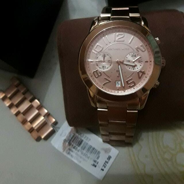 Authentic Michael Kors (Rose Gold)