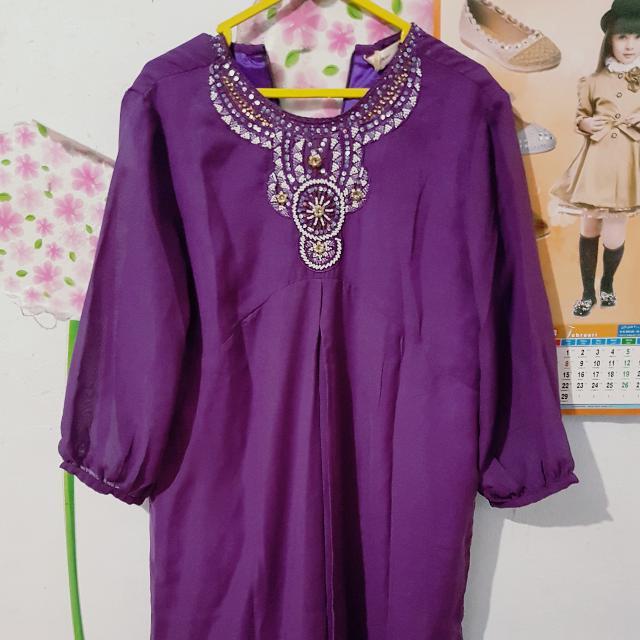 Baju Gamis Pendek