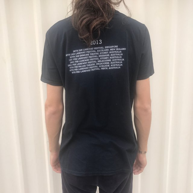 Bat For Lashes The Haunted Man Tour Tee
