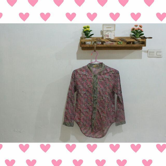 Batik In Pink