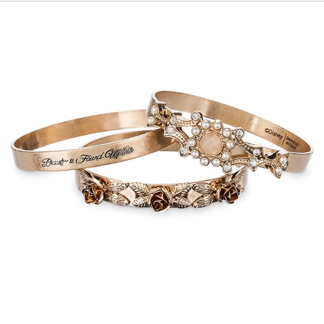 cb5943e74 Beauty and the Beast Bangle Set by Danielle Nicole - Live Action ...