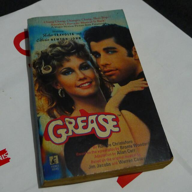 Book: Grease (Movie Tie-In)