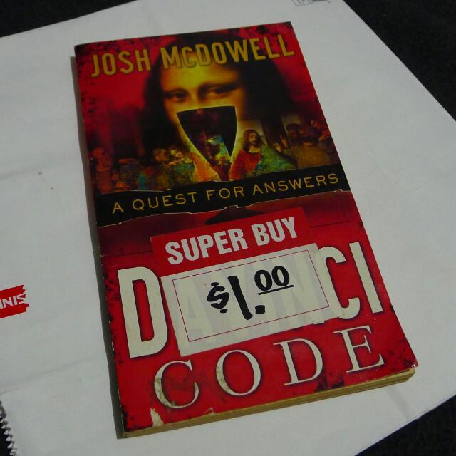 Book: The Da Vinci Code (A Quest for Answers)