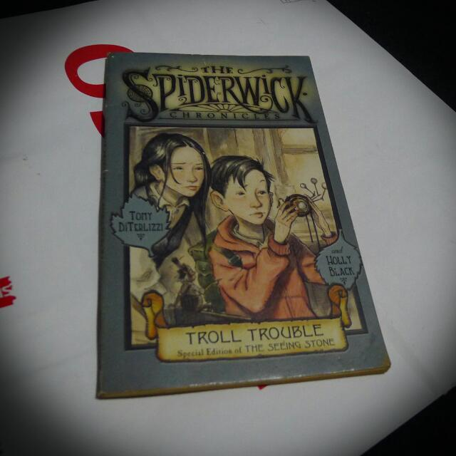 Book: The Spiderwick Chronicles (Troll Trouble)