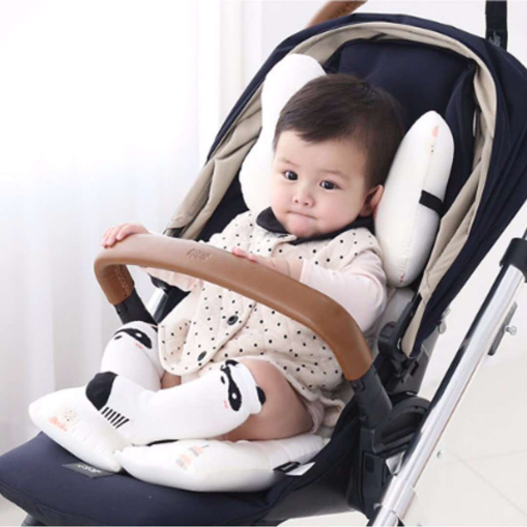Borny Korean Branded Seat Cushion Head Rest For Baby Stroller Pram Car Seat 100 Made In Korea 11 Baby Comfort Full Moon Gift