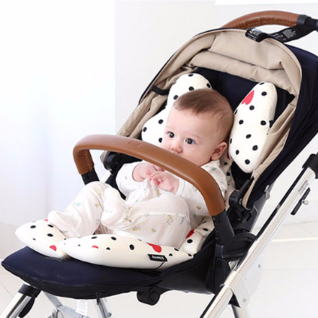 Borny Korean Branded Seat Cushion Head Rest For Baby Stroller Pram Car Seat 100 Made In Korea 21 Baby Comfort Full Moon Gift