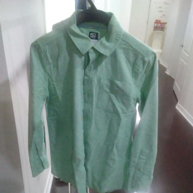Boys Dress Shirt Cotton