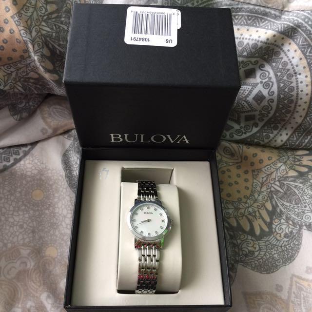 Brandnew With Tag Bulova Watch