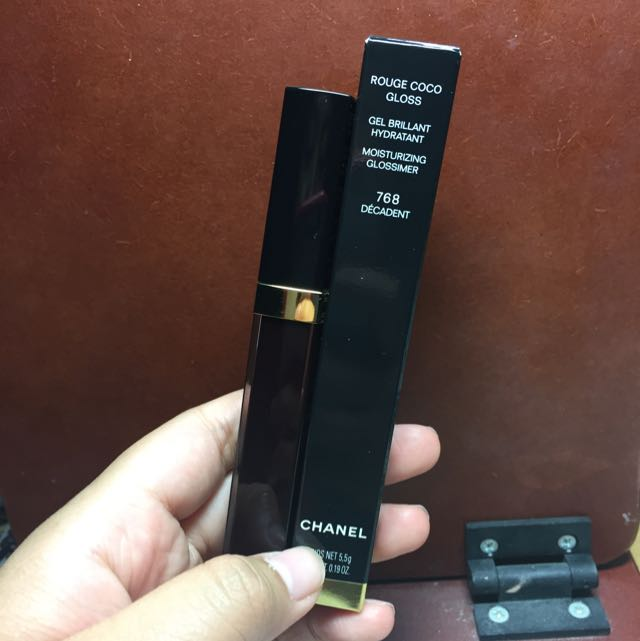 Chanel Rouge Coco Gloss 水晶糖光透唇釉