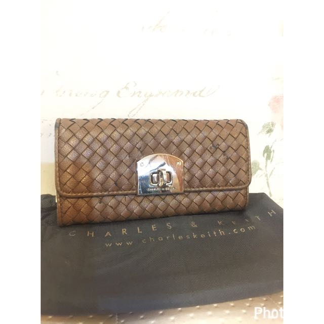 Charles N Keith Brown Wallet