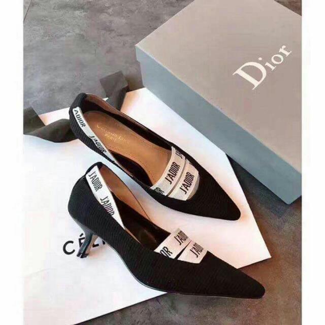 christian Dior short heel.