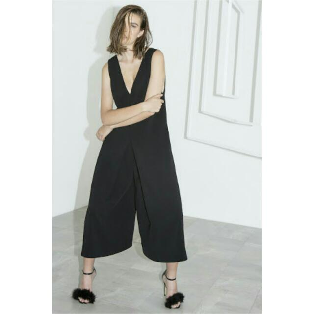 """C/MEO Cameo Collective """"Sidelines"""" Black Jumpsuit"""