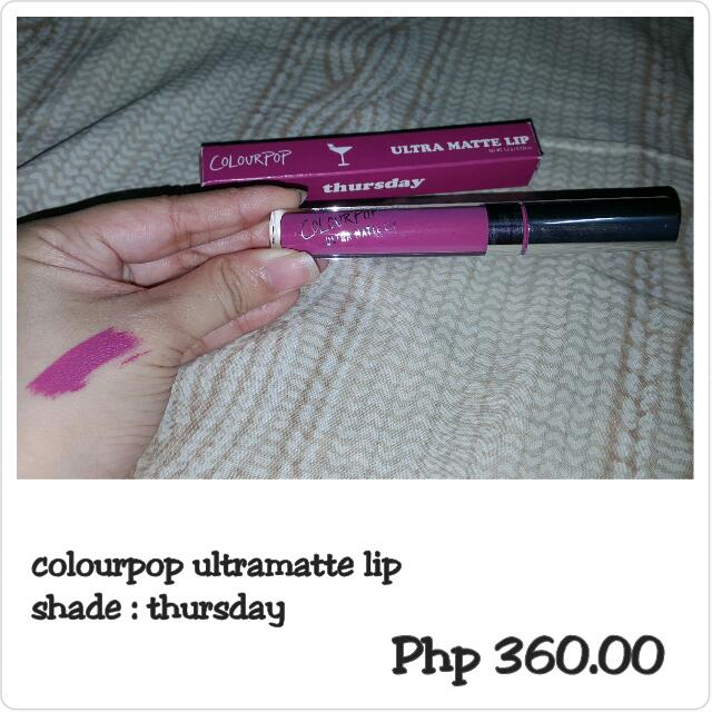 Colourpop Ultramatte Lip