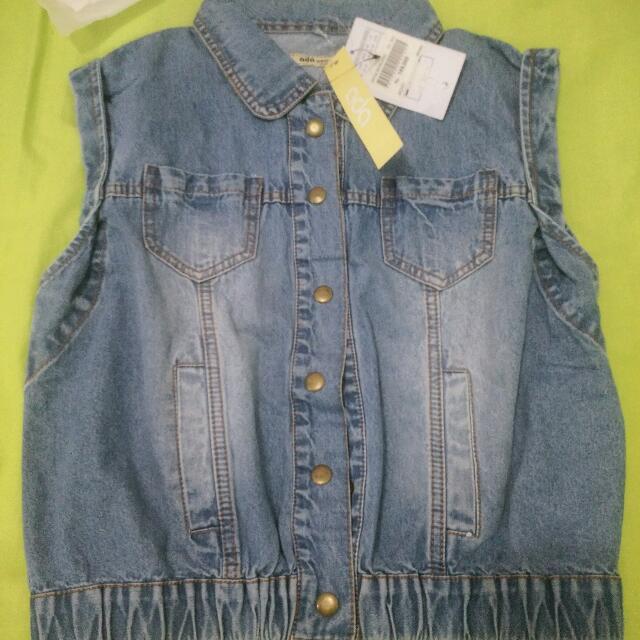 Denim Outwear..brand Ada Woman