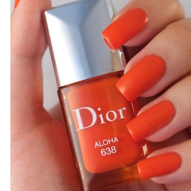 Dior Vernis Nail Polish Aloha 638
