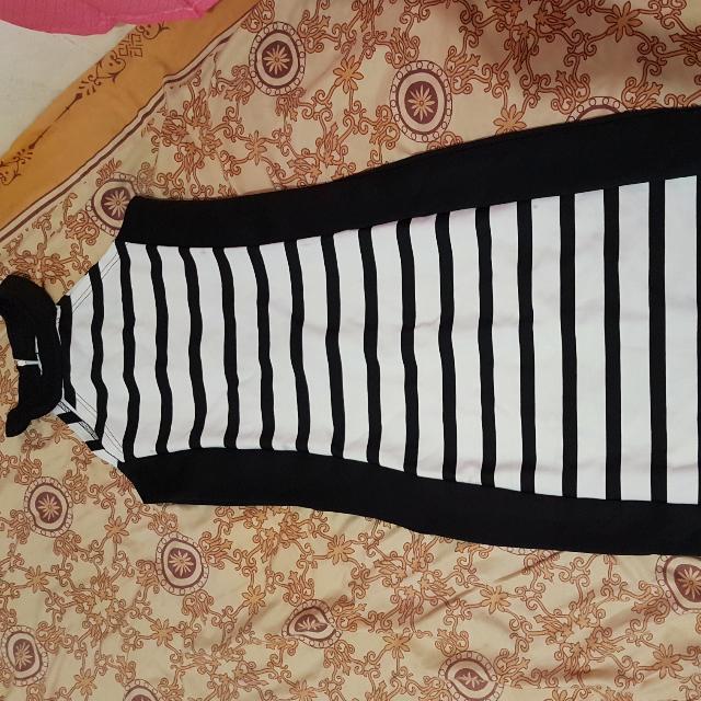 Dress all Size,panjang Di Bawah Lutut,