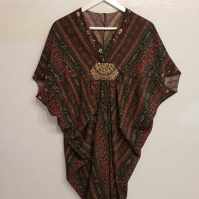 Dress Etnik Mewah