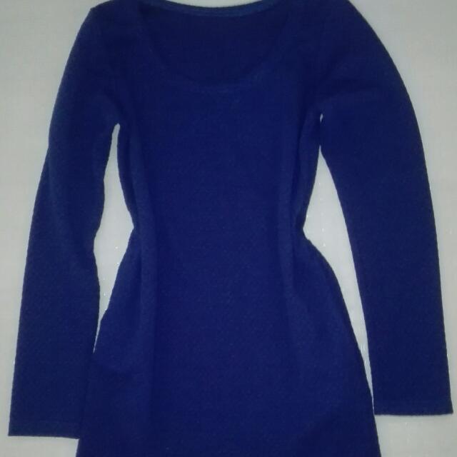 dress sexy blue dress