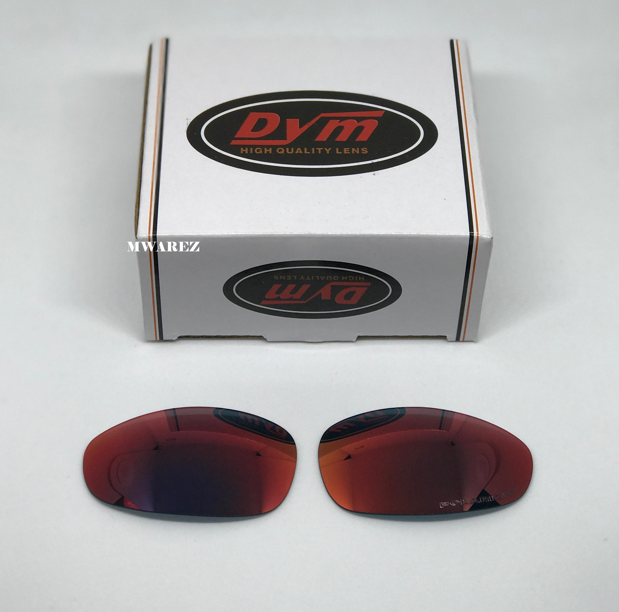 Juliet Ruby Red POLARIZED Replacement Dym Lenses for Oakley Juliet ... 2cda9a8765c