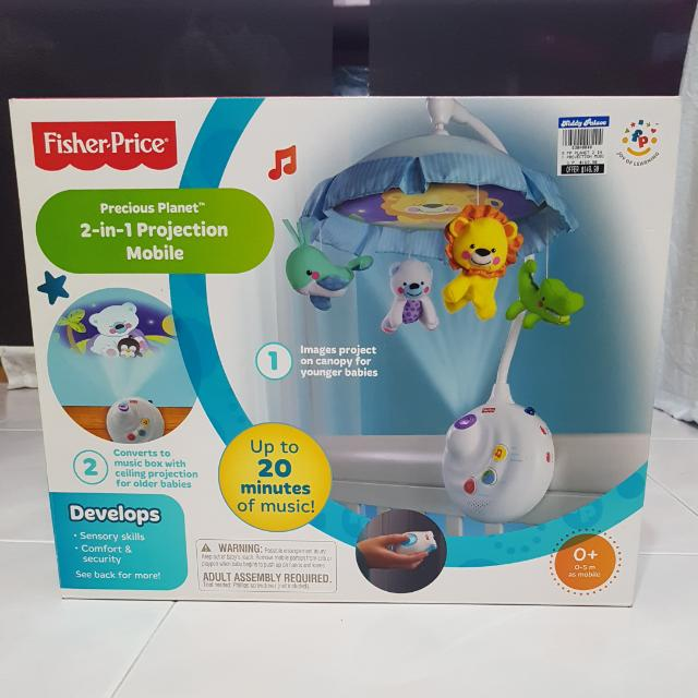 0d657e11f0339 Fisher-Price Precious Planet 2-in-1 Projection Mobile