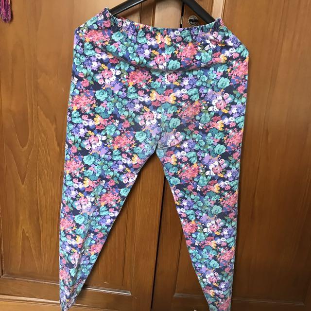 Flower Printing Legging