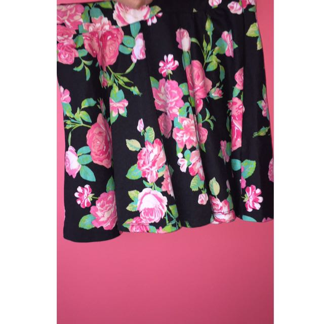 Flower Skirt From Urban Outfitters