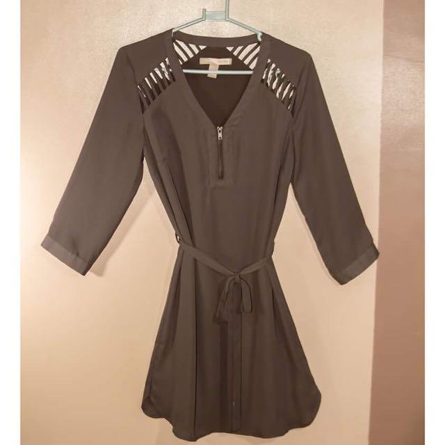 Forever 21 Chiffon Office Dress