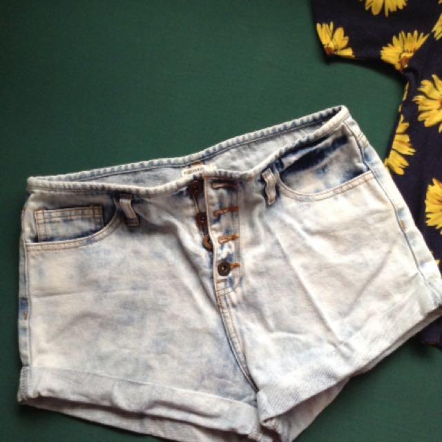 Repriced❗️Forever 21 Light Wash Denim Shorts