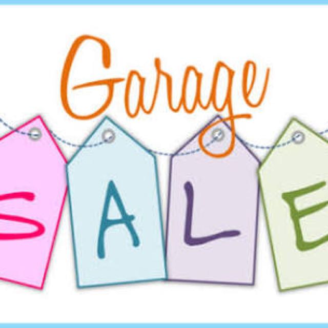 Garage Sale this Sunday 30th April