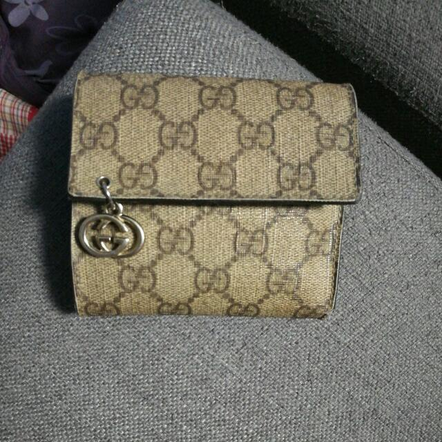 932748d64fc8 Genuine Gucci Wallet - Preowned, Luxury, Bags & Wallets on Carousell