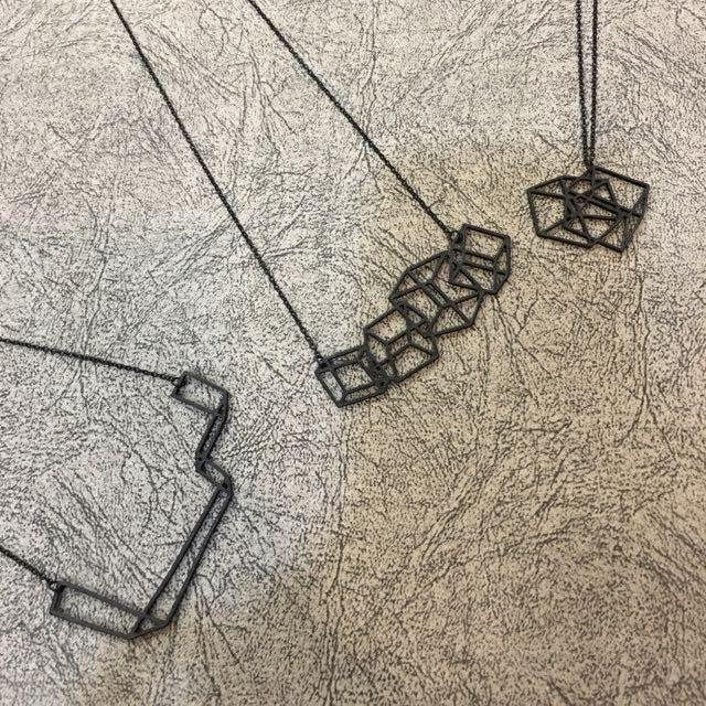 Geometric Necklace (free NM)