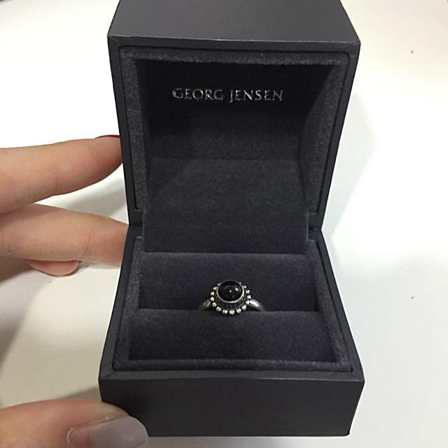 Georg Jensen 純銀 戒指