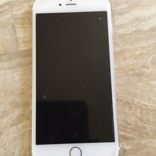 Gold iPhone 6 plus