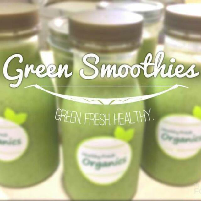 Organic Green Smoothies