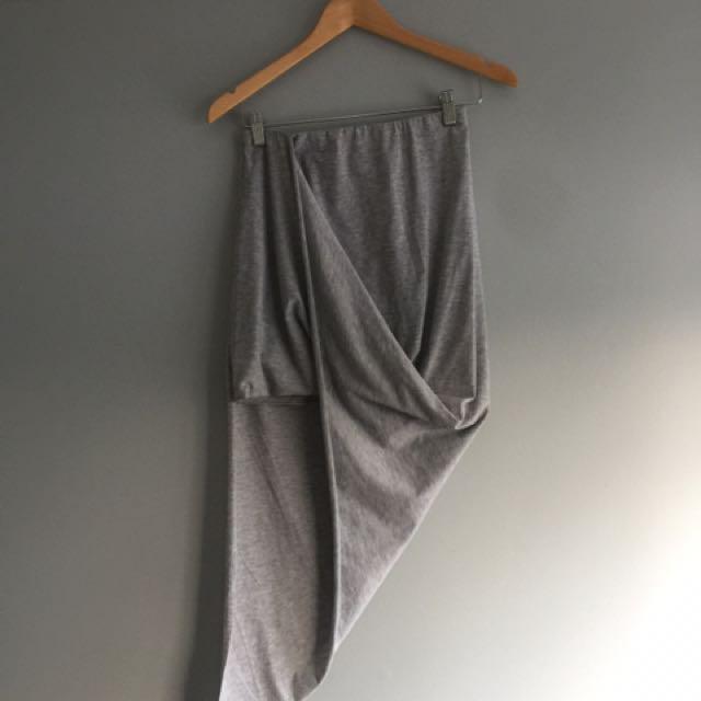 Grey Side Skirt