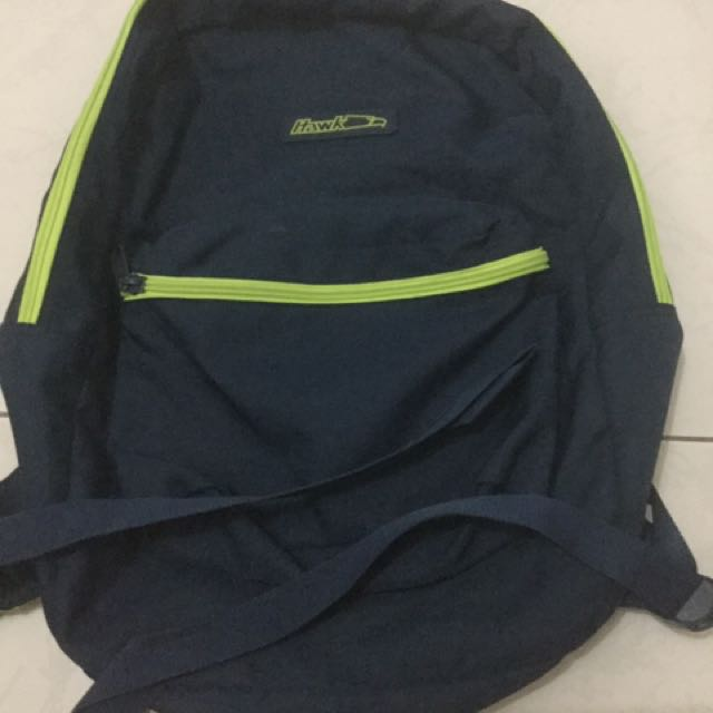 Hawk Bag (blue And Yellow Green)