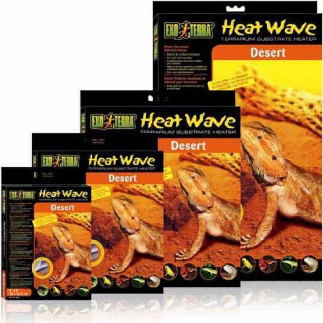 Heat Wave Desert Terrarium Substrate Heater Pet Supplies On Carousell