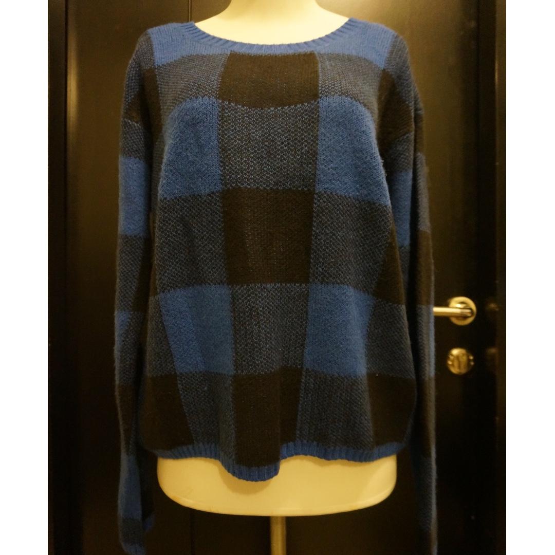 H&M Plaid Sweater