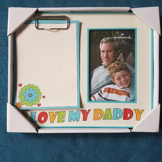 """I Love Daddy"" Frame"