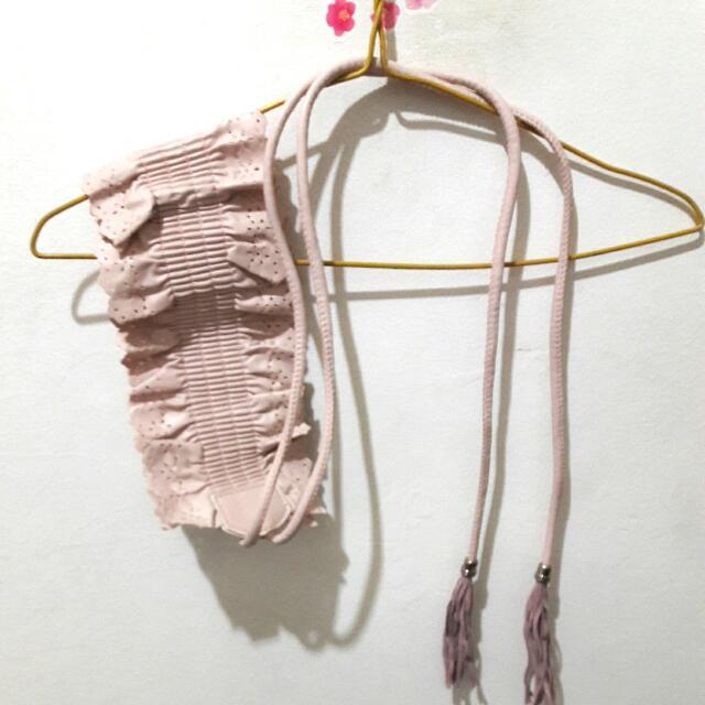 Ikat Pinggang Wanita /obi Warna Pink Pastel
